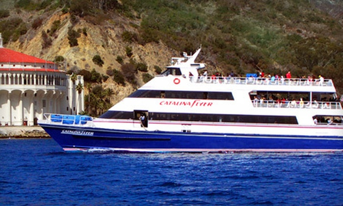"Catalina Flyer - Balboa Pavilion: $34 for a Roundtrip Ticket to Catalina Island from Newport Beach on the ""Catalina Flyer"" Cruise Liner ($69 Value)"