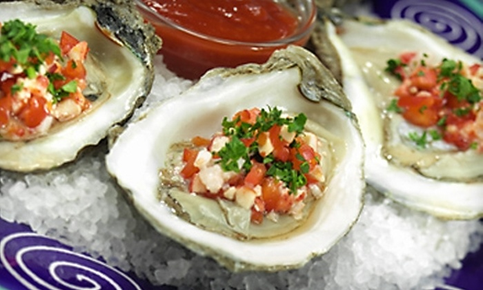 Elegant Carriages - Central Business District: $70 for One-Hour Ride for Two from Elegant Carriages and $40 Worth of Seafood Fare at Washington Platform in Cincinnati