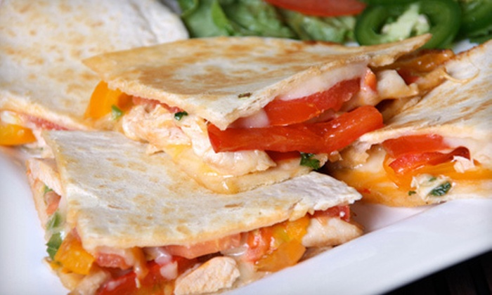 La Quesadilla Mexican Grill - St. John: Mexican Cuisine at La Quesadilla Mexican Grill in Saint John (Half Off). Two Options Available.