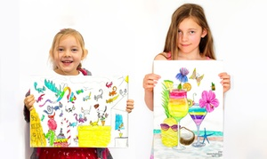 Realisticus Art Academy: Realistic Art Class Trial Session for 1 Child ($16) or 2 Children ($30) at Realisticus Art Academy (Up to $54 Value)