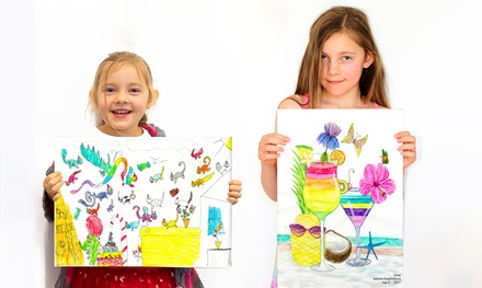 Realistic Art Class Trial Sessionfor 1 Child ($16) or 2 Children ($30) at Realisticus Art Academy (Up to $54 Value)