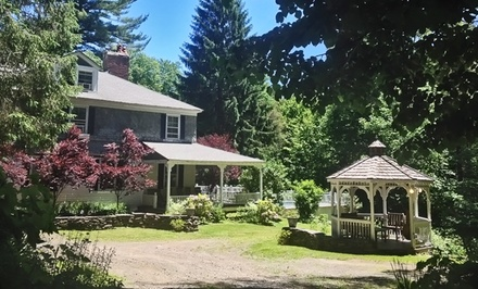 groupon daily deal - 3- or 7-Night Detox Boot Camp and Standard Room for One or Two at Jump Start Retreat NY in Pine Hill, NY