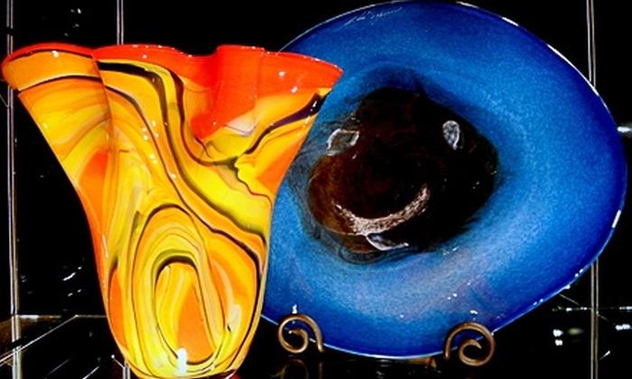 1020 Glass Art - Austin: $20 for $50 Worth of Glass Art at 1020 Glass Art