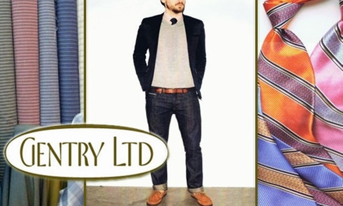 Gentry Ltd. - Wichita: $49 for $100 Worth of Premium Denim, Slacks, Sweaters, and More from Gentry Ltd.