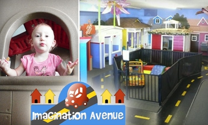 Imagination Avenue - Paradise Valley: $20 for a Five-Day Punch Card to Imagination Avenue Children's Play Space ($40 Value)