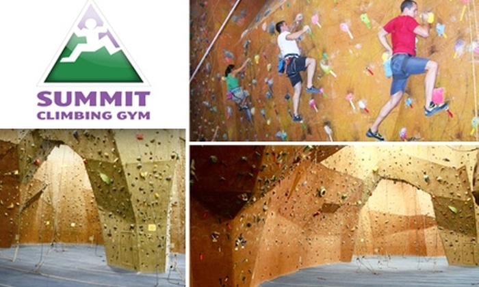 Summit Climbing Gym  - Grapevine: $25 for 1-Month Unlimited Climbing at Summit Climbing Gym