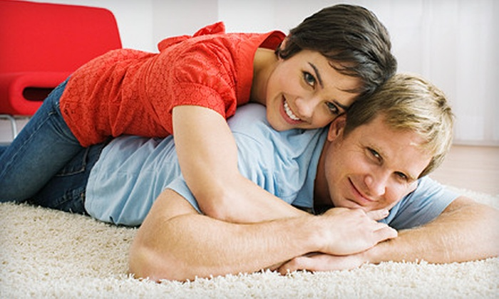 KCS Carpet Cleaning and Restoration - Heath: $69 for Carpet Cleaning and Deodorizing for Three Rooms from KCS Carpet Cleaning and Restoration ($144 Value)