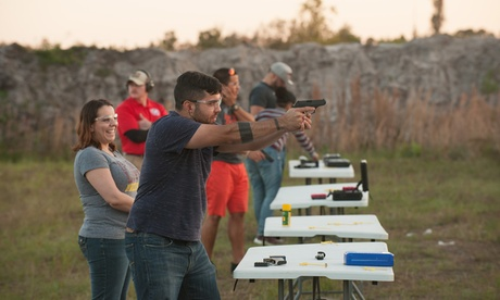Concealed-Carry License Class for One or Two from USS Agency - Florida Concealed Weapons Permit (Up to 95% Off)