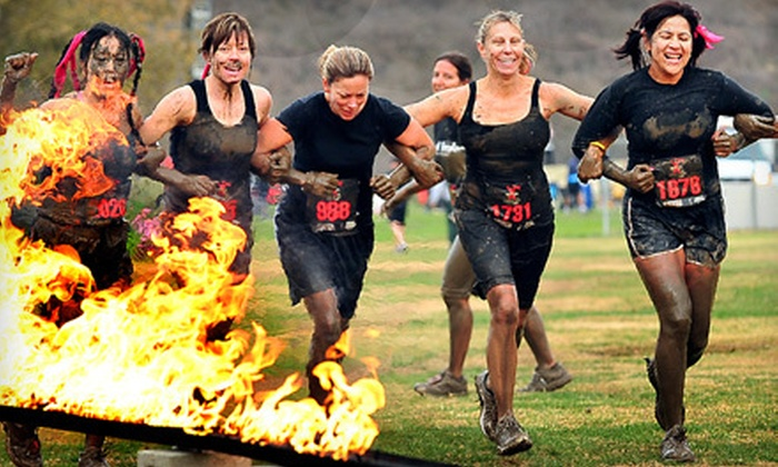 Gladiator Rock'n Run - San Diego: $52 for 5K Race Registration and VIP Package to Gladiator Rock'n Run in Lakeside (Up to $120 Value)