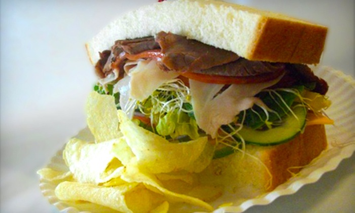 Hickory Kist - Spanish Fork: Half Sandwiches, Chips & Drinks for Two or Four People at Hickory Kist in Spanish Fork