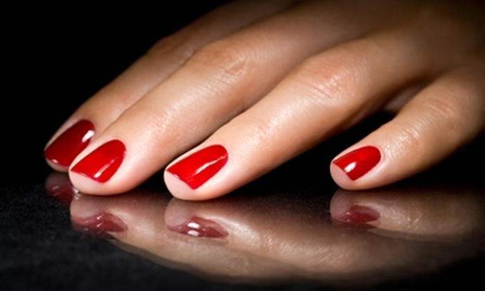 Blondie's - Southwest Topeka: $17 for a Shellac Manicure at Blondie's ($35 Value)
