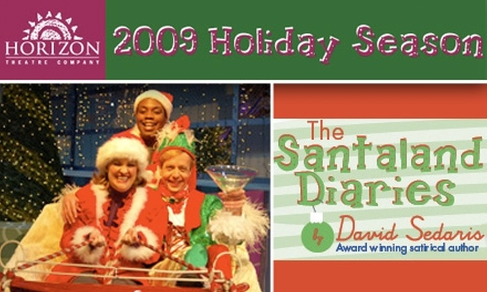 "Horizon Theatre - Inman Park: $15 Tickets to ""The Santaland Diaries"" at the Horizon Theatre (Up to $32 Value)"