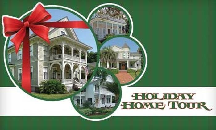 Amelia Island Museum of History - Fernandina Beach: $13 for One Ticket to Amelia Island Museum of History Holiday Home Tour (Up to $30 Value) in Fernandina Beach