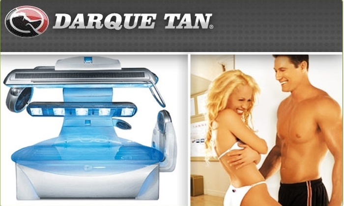 Darque Tan - Boston: $25 for $100 Worth of Tanning at Darque Tan