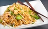 Thai Basil Restaurant - Riverton: $10 for $22 Worth of Asian Fusion Fare at Thai Basil Restaurant in Riverton