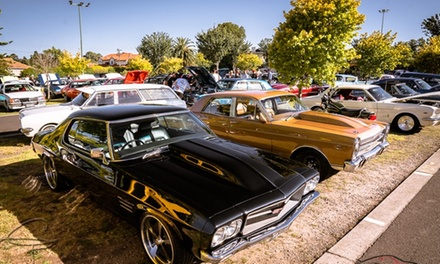 One $6 or Two Adult Tickets $12 to Showcars Melbourne Event Up to $20 Value