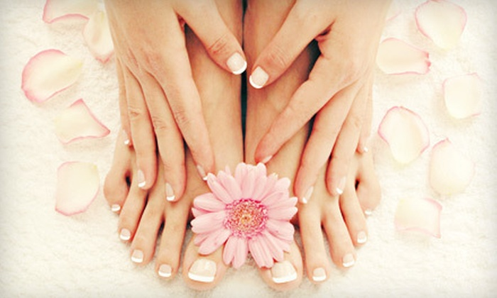 Paradigm Salon - 7: Hairstyling Package or Mani-Pedi at Paradigm Salon (Up to 60% Off)