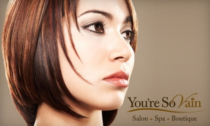 You're So Vain - West Seneca: $35 Women's Haircut, Deep-Conditioning Treatment, and Makeup Application at You're So Vain