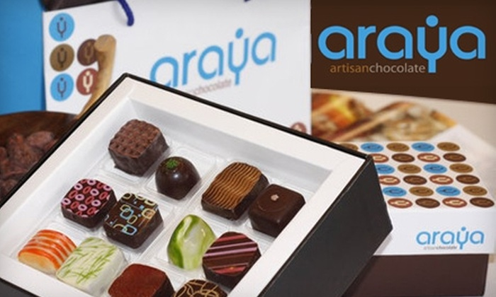 Araya Artisan Chocolate - Multiple Locations: $12 for 12 Chocolates from Araya Artisan Chocolate