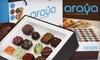 Araya Artisan Chocolate - Multiple Locations: $12 for 12 Chocolates from Araya Artisan Chocolate