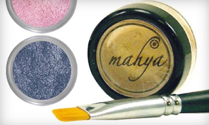 Soap Hope: $10 for $20 Worth of Mahya Mineral Makeup Products from SoapHope.com