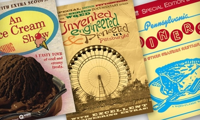 Shop WQED: $20 for $40 Worth of Books, DVDs, and Collectibles Online from Shop WQED