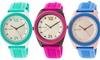 Crayo Praise Silicone Strap Watch: Crayo Praise Silicone Strap Watch