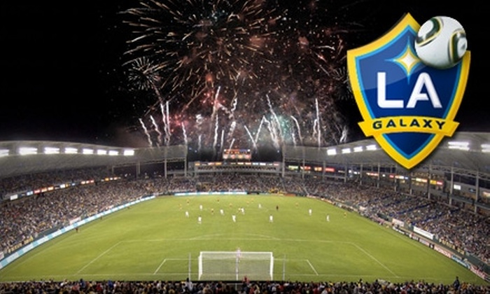 LA Galaxy - Carson: Up to 61% Off Tickets to the LA Galaxy's 4th of July Soccer Face-Off Against the Seattle Sounders FC with VIP Fireworks Show Access. Choose from Three Options.
