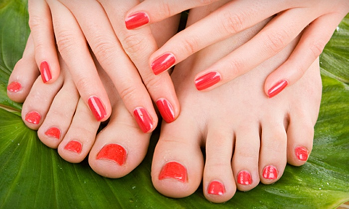 Stone Temple Salon & Spa - Spruce Grove: $39 for Nailcare Package with Mani-Pedi and Paraffin Treatment at Stone Temple Salon and Spa in Spruce Grove ($90 Value)