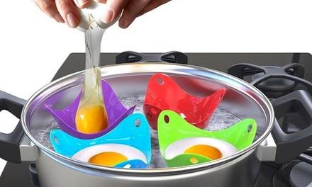 1 o 2 packs de 4 moldes para huevos escalfados (envío gratuito)