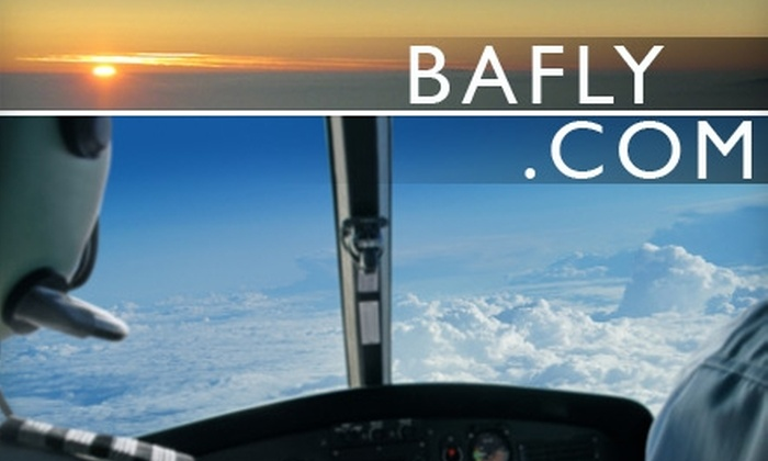 Bafly.com - Multiple Locations: $150 for a Two-Hour Flying Lesson from Bafly.com ($285 Value)