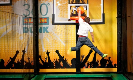Two, Four, or Six 60-Minute Jump Passes at Rockin' Jump - San Carlos (Up to 35% Off)