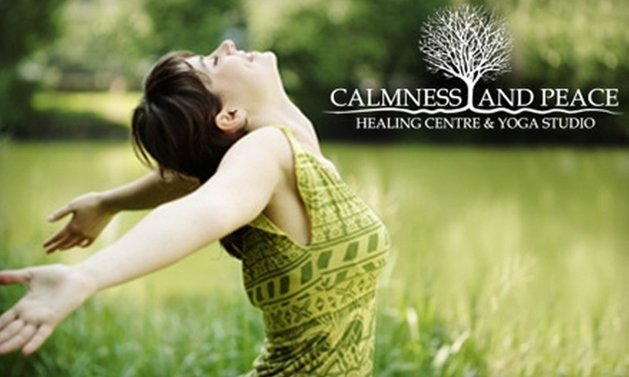 Calmness and Peace Healing Centre & Yoga Studio - Central London: $29 for a Wellness Treatment at Calmness and Peace Healing Centre & Yoga Studio ($65 value). Choose from Three Services.