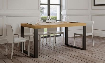Tavolo da pranzo rettangolare