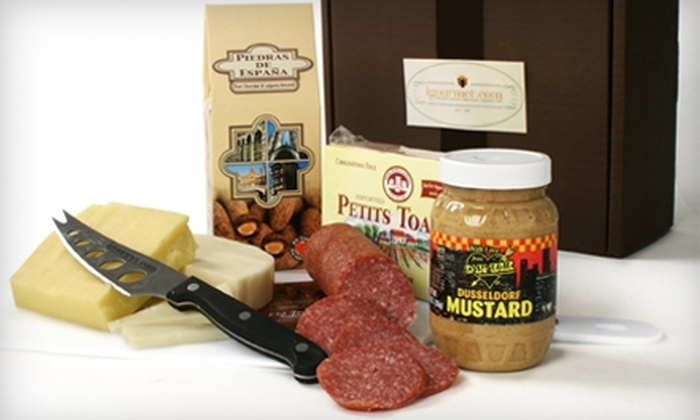igourmet.com: $20 for $40 Worth of Gourmet Cheese, Meats, and Gift Baskets from igourmet.com