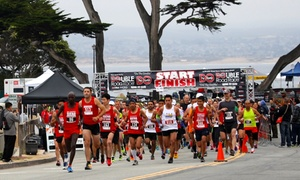 Double Road Race: Entry to the 3rd Annual Pacific Grove Double Run on May 8th (Up to 39% Off). Three Options Available.