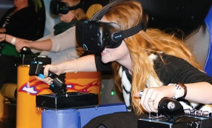 image for Arcade, Active, Virtual Reality, and Go Karting at Smaaash (Up to 51% Off). 12 Options Available.