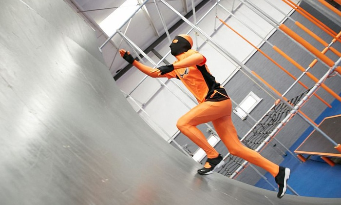 Ultimate Ninja UK - Colchester: Obstacle Course Entry with Meal and Drink for Up to Four at Ultimate Ninja UK (Up to 28% Off)
