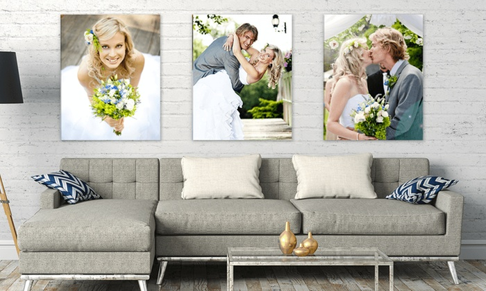 Up To 89 Off Wedding Canvas Display From Simple Prints