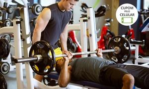 Academia Fire Gym: Academia Fire Gym – Boqueirão: 1, 3 ou 6 meses de academia com matrícula e avaliação inclusas
