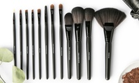 Groupon.com deals on All Dolled Up Professional Makeup Brush Set (13-Piece)