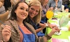 Up to 42% Off Entry to Paint and Sip Event from Drinkable Arts