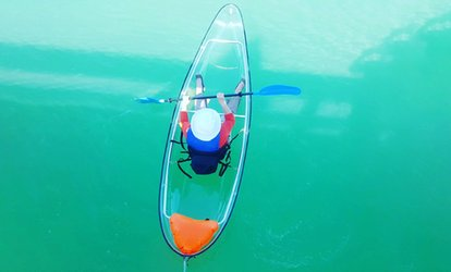 image for Kayak or Paddleboard Rental at Glass Bottom Rentals (Up to 62% Off). Four Options Available.
