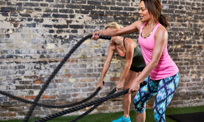 Davie Fit Bodies Gym - Davie: Group Training or Personal Training Sessions at Davie Fit Bodies Gym (Up to 57% Off). Four Options Available.