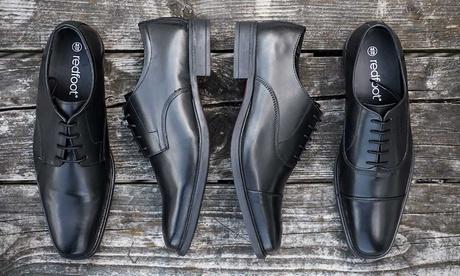 Zapatos de piel para hombre Redfoot