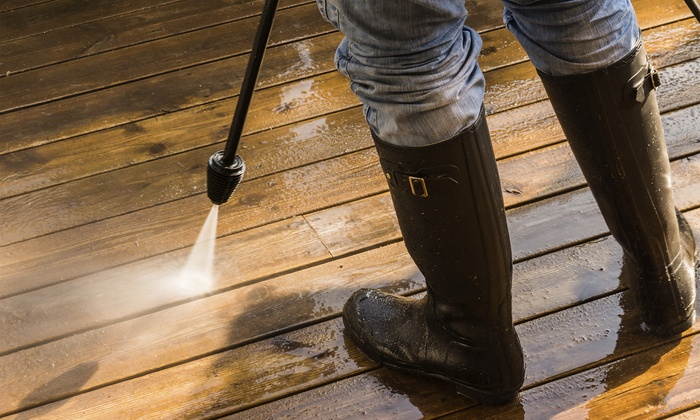 Wolverine Clean - Orlando: Pressure Washing of a Driveway, One-Story, or Two-Story House at Wolverine Clean (Up to 56% Off)