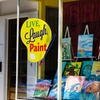 Up to 48% Off BYOB Painting Class at Live Laugh Paint