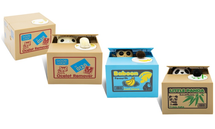 One or Two Mischief Money Boxes