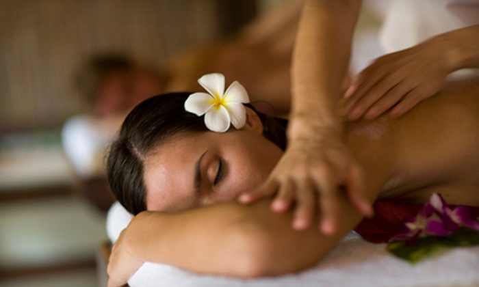 Anew Day Spa - Multiple Locations: 60-Minute Massage with Fruit and Cheese Plates and Beverages for One or Two at Anew Day Spa (Up to 51% Off)
