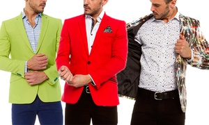 Suslo Couture Men's Slim Fit Sport Coats at Suslo Couture Men's Slim Fit Sport Coats, plus 9.0% Cash Back from Ebates.